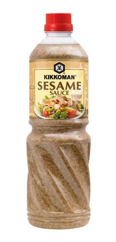 Molho Salada Gergelim Japones Kikkoman Sesame 1l