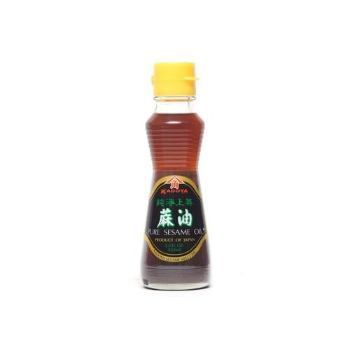 Oleo Gergelim Torrado Japonês 100% Natural Kadoya 163ml Jp