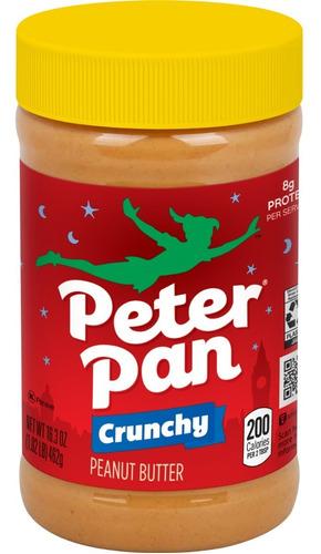 Pasta De Amendoim Integral Americana Peterpan Crocante 462gr