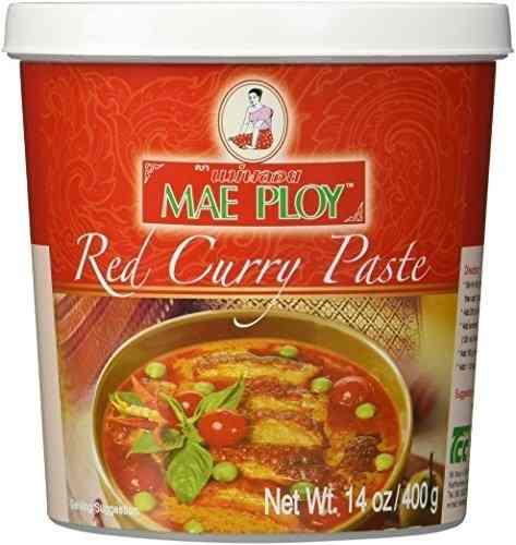 Pasta De Curry Vermelho - Mae Ploy - Tailândia - 400gr