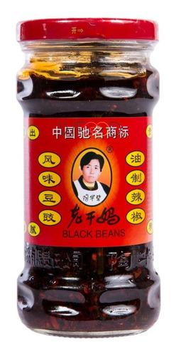 Pimenta Laoganma Chinesa com feijão preto 280gr - Deliciosa
