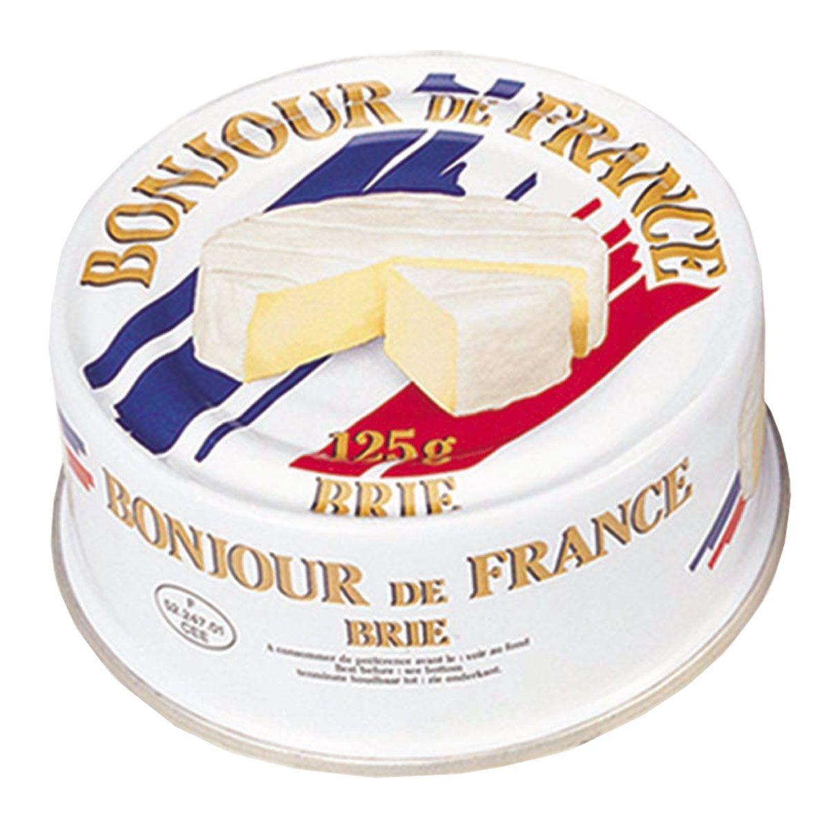 Queijo Brie Bonjour De France Lata 125g