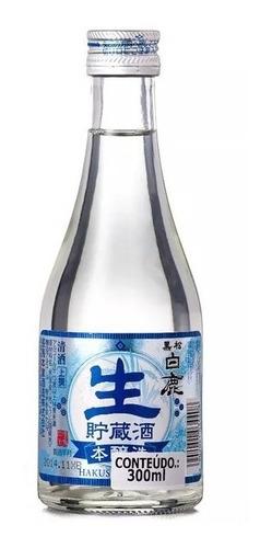 Sake japonês Hakushika Namachozo 300ml