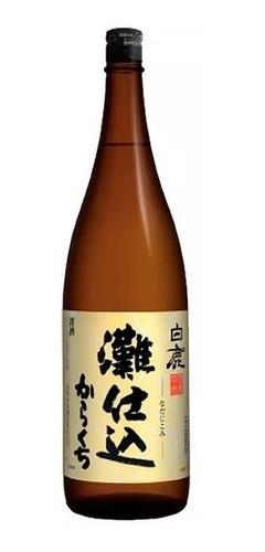 Sake Saque Hakushika Nadajikomi Karakuchi 1.8l