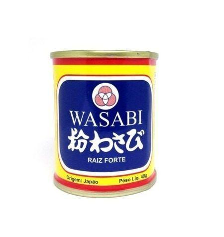 Wasabi Em Pó - Raíz Forte - San Maru - 40gr Mc Jp
