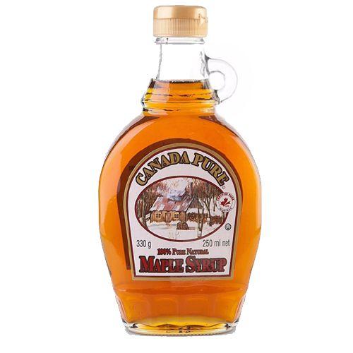 Xarope Maple Canadense Bordo Maple 15% Panqueca 250ml