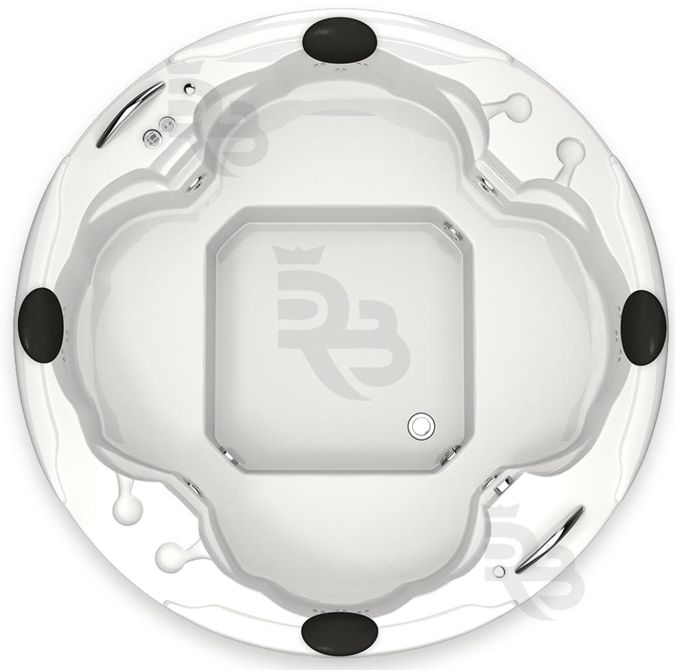 Spa Sensação Silver 186x66 em GelCoat Alto Brilho