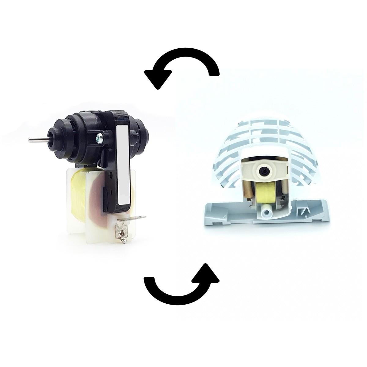 10 Motor Ventilador Refrigerador Kdv47 Continental 220V 710576