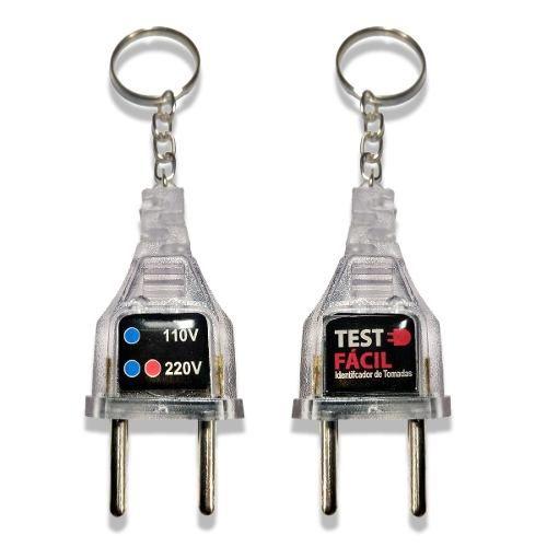 Teste De Tomada 127v / 220v Kit 10 Peças