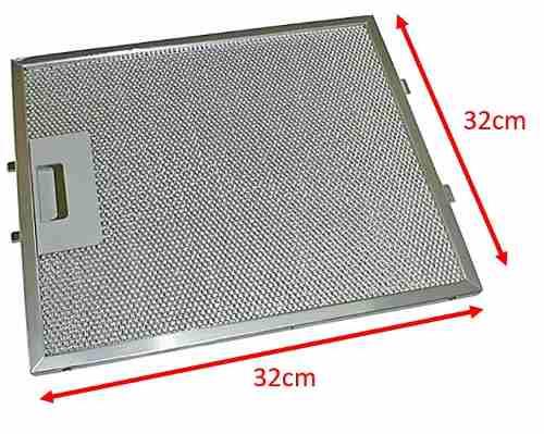 Filtro De Aluminio Coifa Ba190ar 326075876