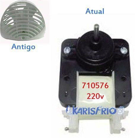 Motor Ventilador Refrigerador Rcct495 Continental 220v 710576