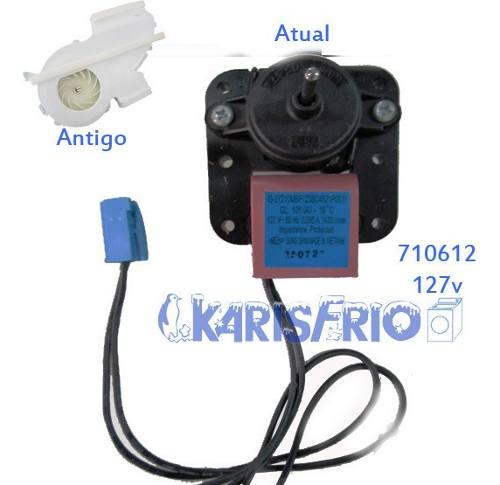 Motor Ventilador Refrigerador Rfct451 Cont 127v 710612