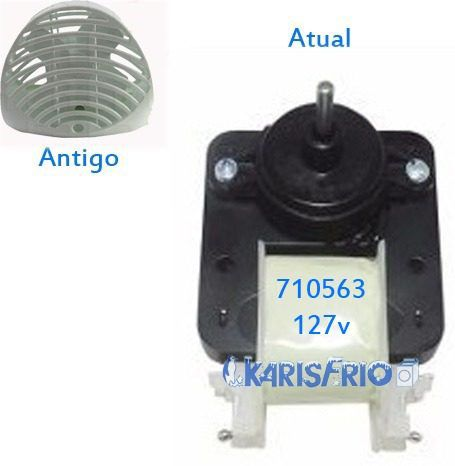 Motor Ventilador Refrigerador Rcct490 Continental 127v 710563