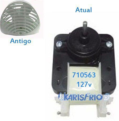 Motor Ventilador Refrigerador Rcct480 Continental 127v 710563