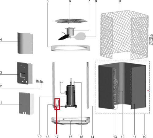 Válvula De Serviço Para Condensadora Electrolux Cfe60/36