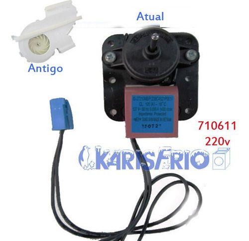 Motor Ventilador Refrigerador Rfct455 Continenta 220v 710611