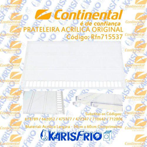 Prateleira Acrilica Continental Original Do Fabricante