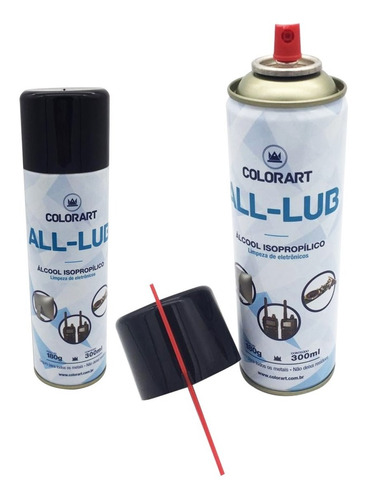 9 Spray Álcool Isopropílico Limpa Placa E Circuito 300ml