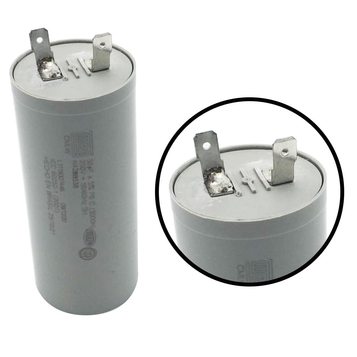 Capacitor De 50uf Electrolux Lavadora De Roupas 127v Várias