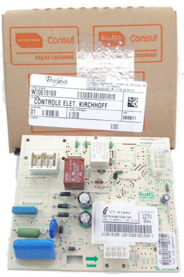 Controle Kirchhoff Mid 127v BVR28GB/ FB/GR/HB/HR Código: W10619169