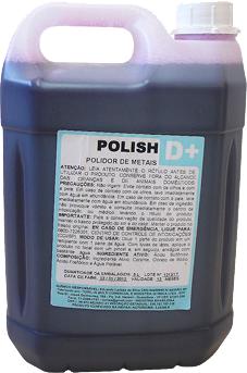 Polish D+ Polidor de Metais - 5 Litros