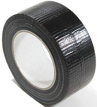 Fita Silver Tape Preta 48mm x 30Mts