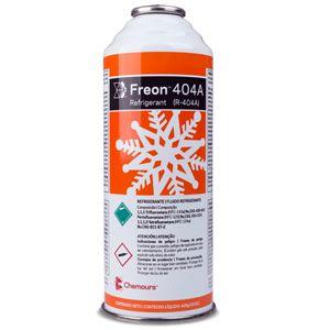 Gás Freon™ 404A (R-404A) - Antigo Suva™ 404A (Lata 425g)