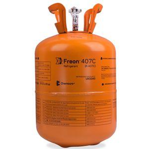 Gás Freon™ 407C (R-407C) -  Antigo Suva™ 407C (Dac 11.35Kg)