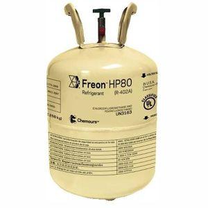 Gás Freon™ HP80 (R-402A) -  Antigo Suva™ HP80 (Dac 12.258Kg)