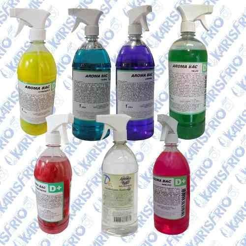 Kit Bactericida Aromatizante Ar Condicionado 1l - 7 Aromas