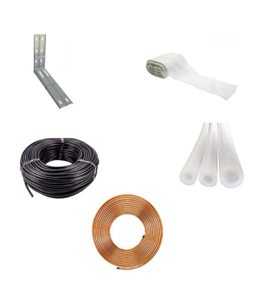 Kit para Instalação de Ar Condicionado Split 4mts 9/12 btus