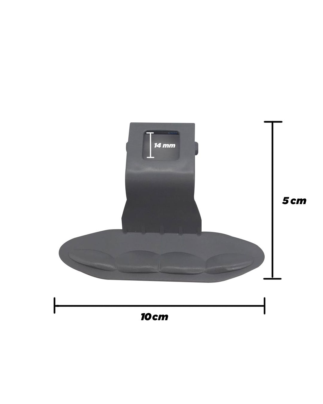 Kit Puxador Porta Lavadora Secadora - 10 unidades - LG
