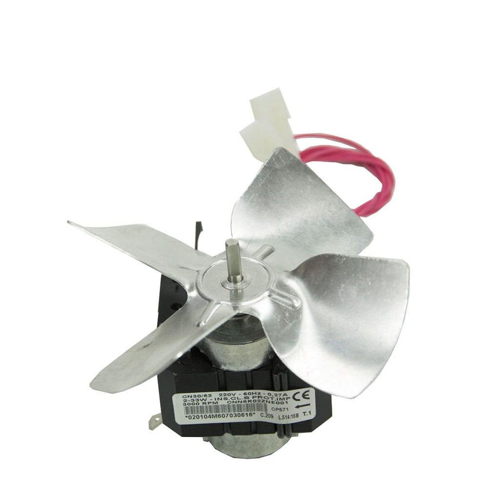 Micro Motor 1/100 127v  Com Hélice de Metal