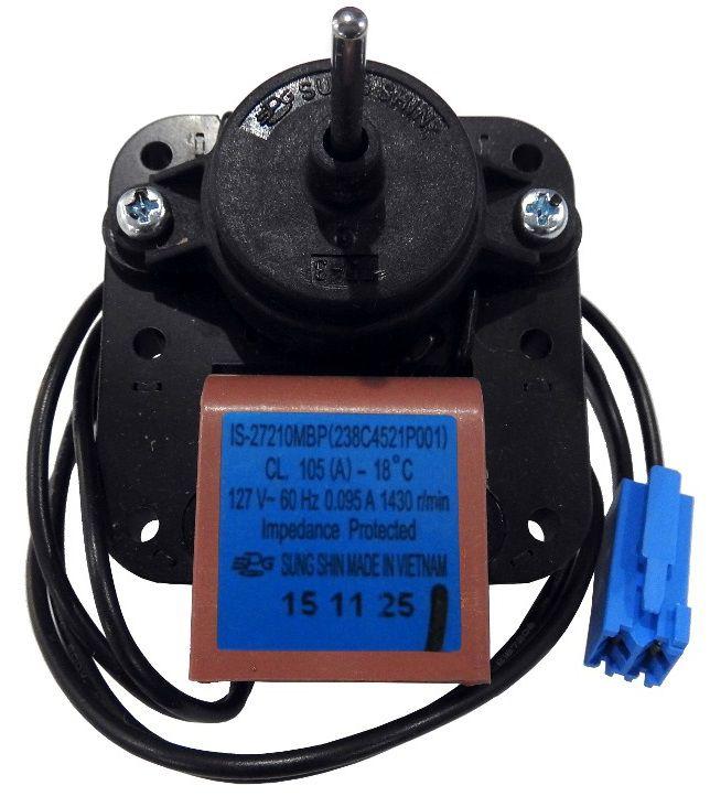 Motor Ventilador EM2513 Refrigerador - 127v - Continental
