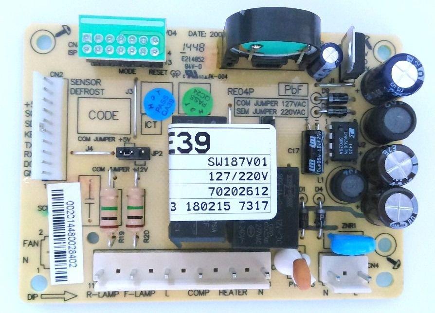 Placa Controle RFE39 Código: 70202612