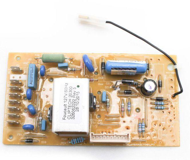 Placa de Potência 127V Lavadora - Brastemp Consul