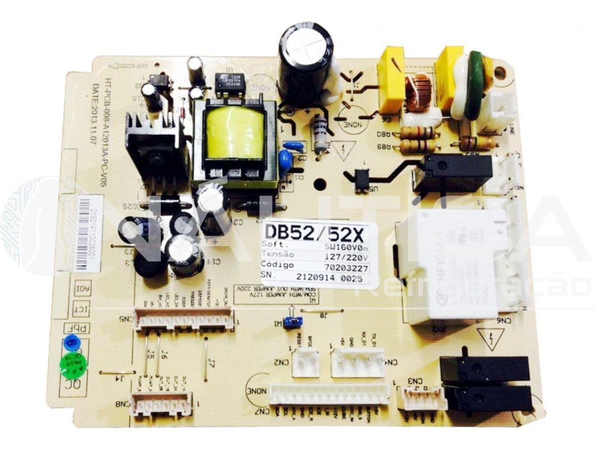 Placa De Controle ERF2510/ UD/ DB52/ DB52X/ DB53/ DB53X/ DT52X Código: 70203227