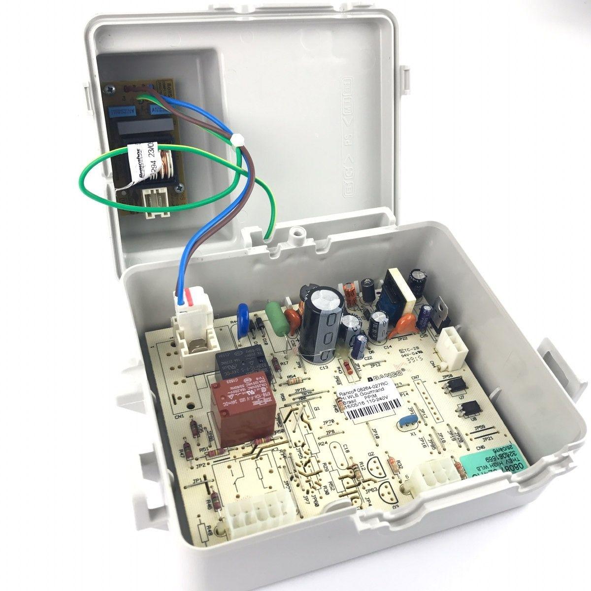 Conjunto Placa de Controle Thevenin para Geladeira - Brastemp