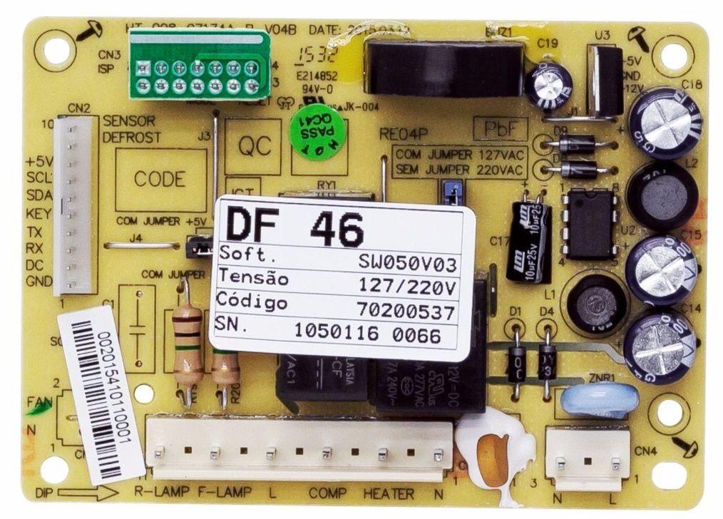Placa De Potência Bivolt DF46 DF49 Código: 70200537
