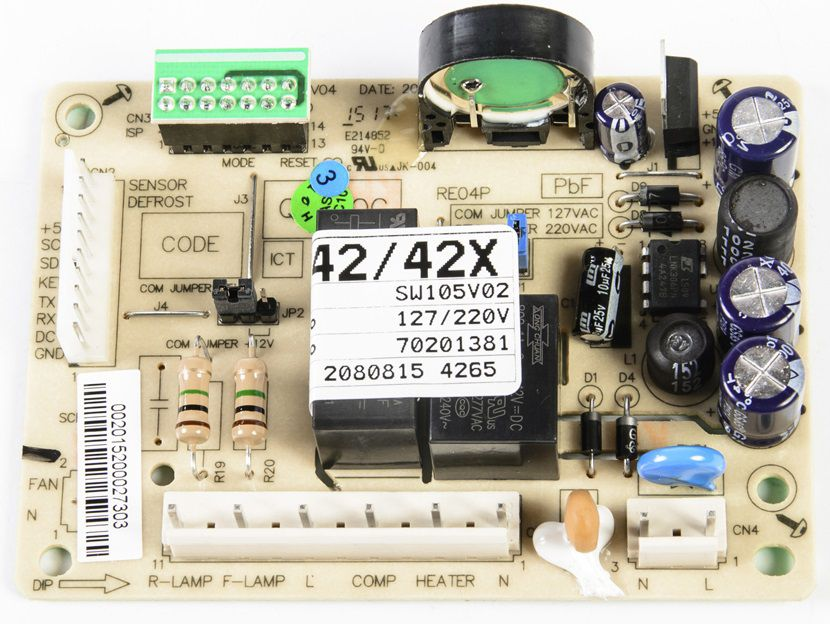 Placa De Potencia DF42 DF42X DFN42 DFX42 DW42X TF42 TF42S  Código: 70201381