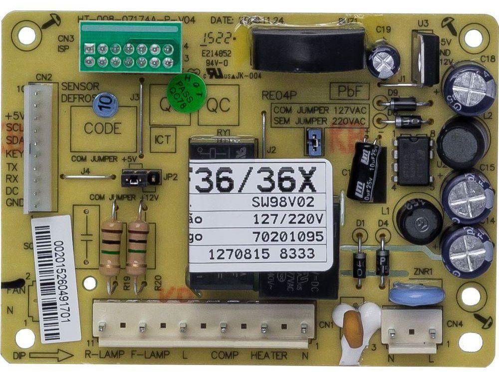 Placa de Controle e Potência - Electrolux