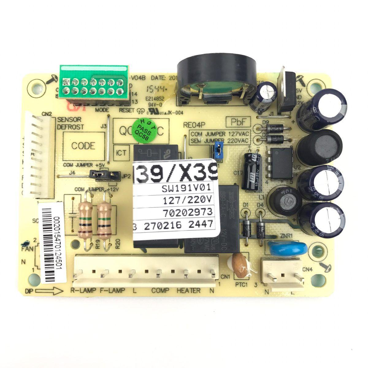 Placa De Potencia DFN39/ DFX39/ TF39/ TF39S Código: 70202973