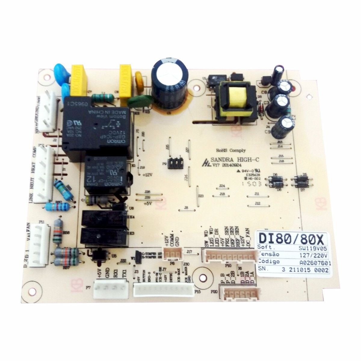Placa De Potencia DI80X/ DT80X Código: A02607601