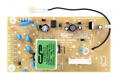 Placa de Potência CP1455 127V Lavadora - Brastemp Consul