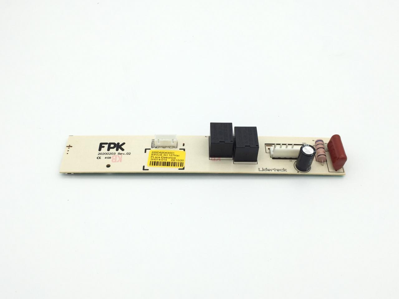 Placa Eletrônica FPK 3 Horas Continental 127v Cód. 225D6254G001/ 711618/ 715749A