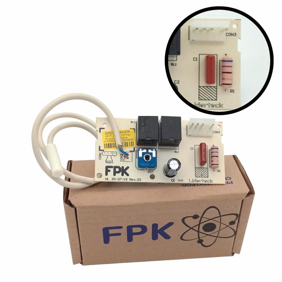 Placa Eletrônica Refrigerador Hot Line Ge 410 127v 225D2354G008A