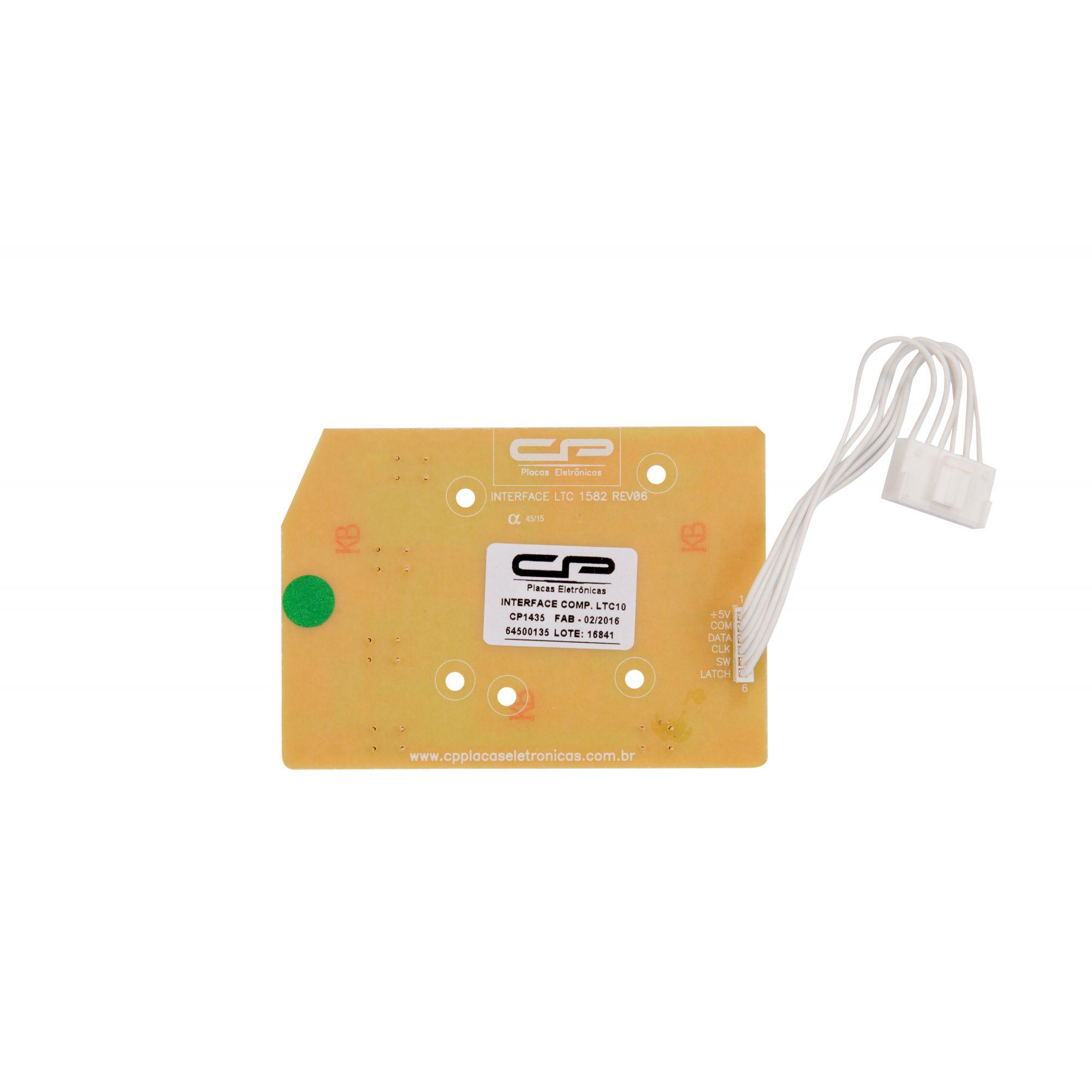 Placa Interface  Lavadora LTC10 / LTC12 / LTC15 / LT11F / LT12F / LT15F / LTD09 / LTD11 (CP1435)