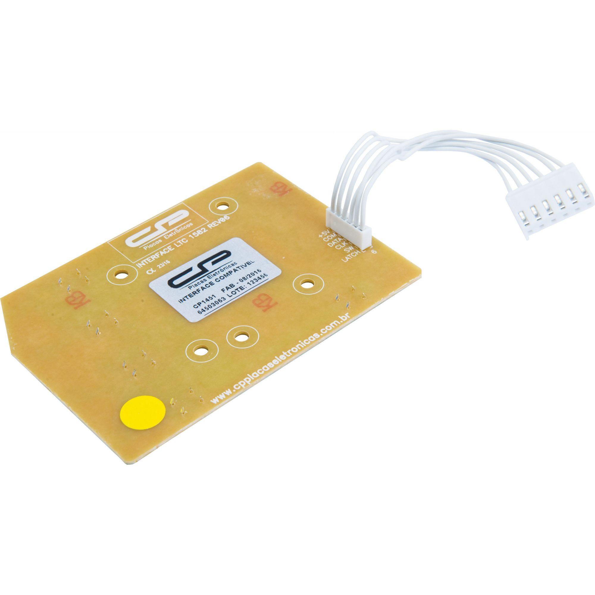 Placa Interface LTC10 / LT12F / LT15F / LTD09 / LTD11 / LTD13 / LTD15 LED Azul Bivolt (CP1451)