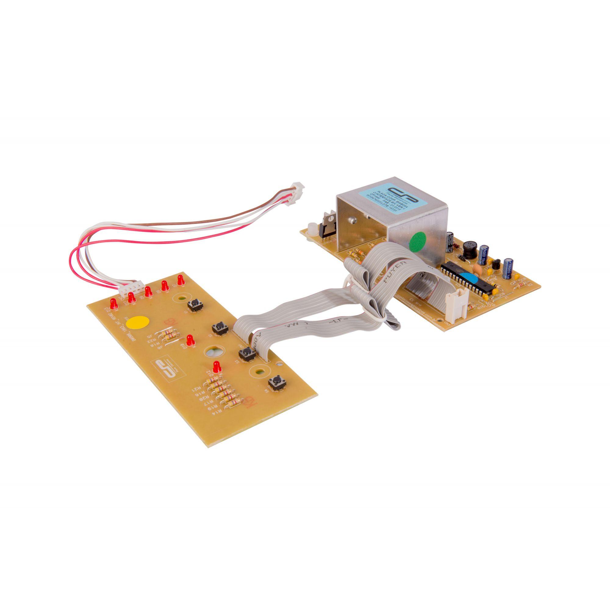 Placa Lavadora BWB08A Com Interface Versão 2 (CP1440)