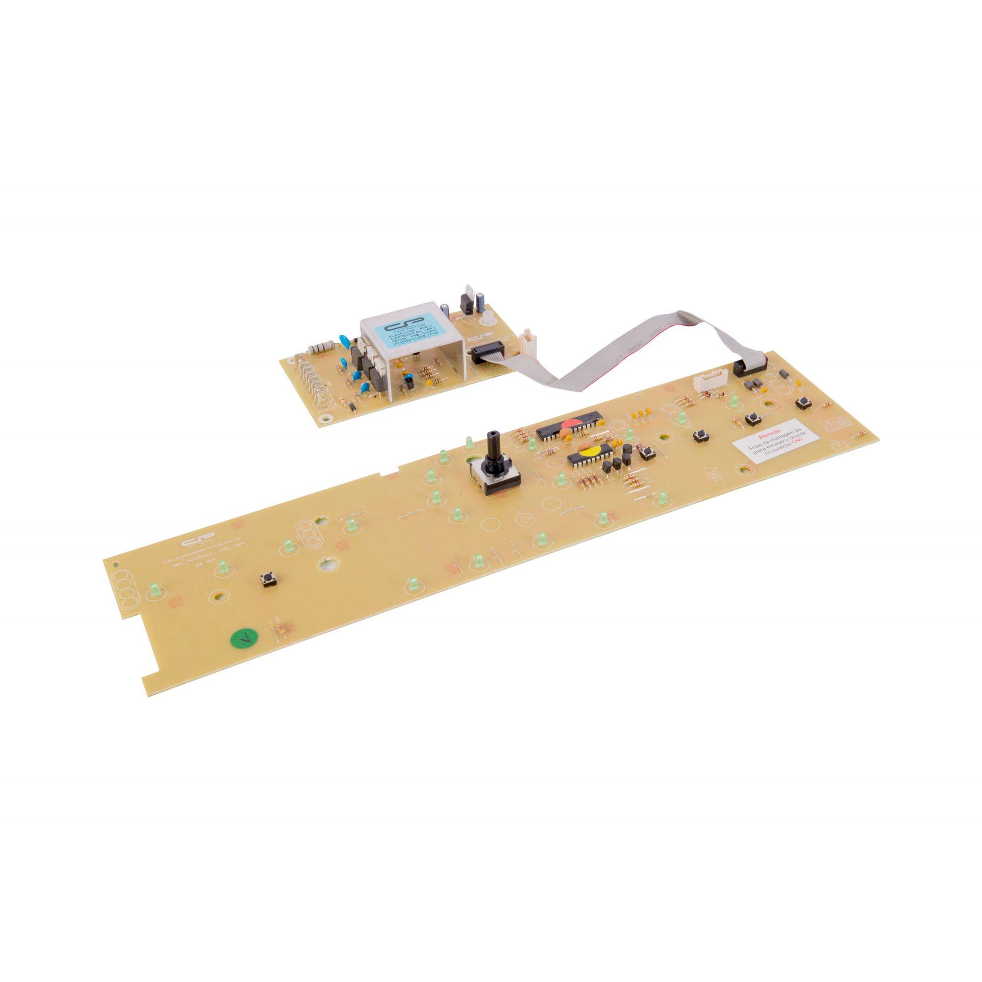 Placa Lavadora BWL11 Potência + Interface Bivolt Versão 3 (CP1044)